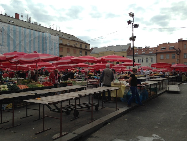 Dolac Open Air Market