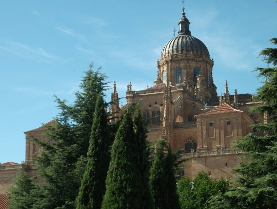 A Beautiful Testament to the Golden City's History Salamanca  Spain