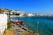 Late morning panorama in front of my hotel room. Mykonos  Greece