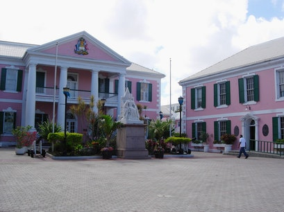 Rawson Square Nassau  The Bahamas