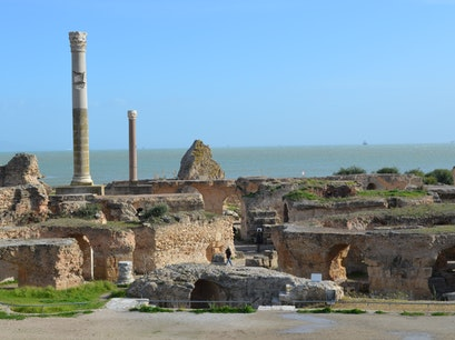 Carthage Ancient Ruins Carthago  Tunisia