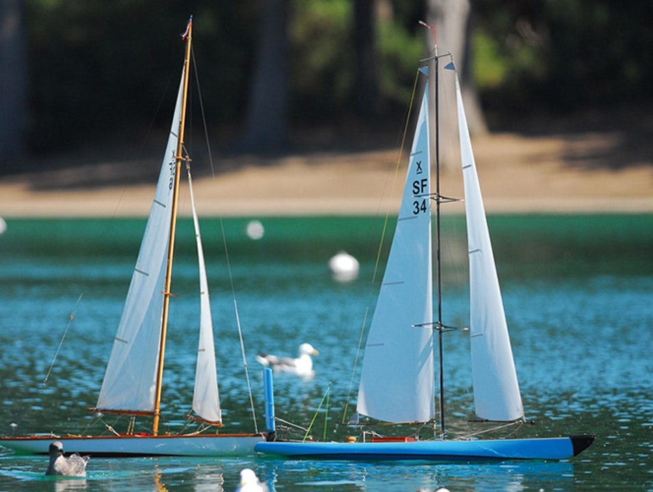 Float Your Boat in Golden Gate Park San Francisco California United States