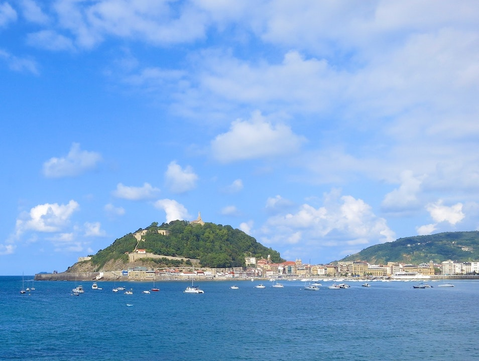 Explore Scenic Views and History on Mount Urgull San Sebastian  Spain