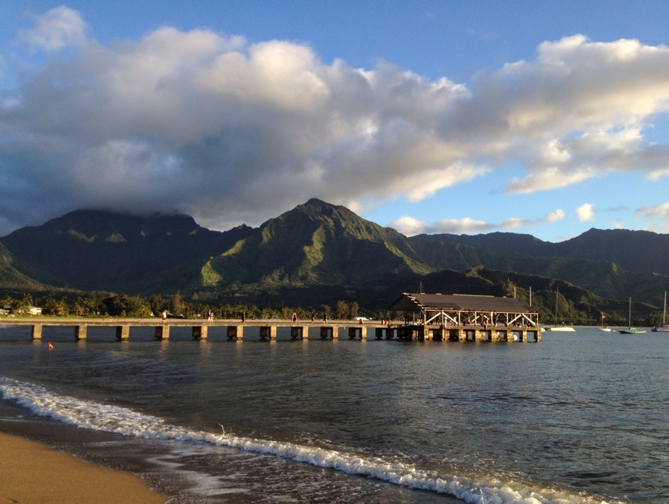 Catch The Sunset Here Hanalei Hawaii United States