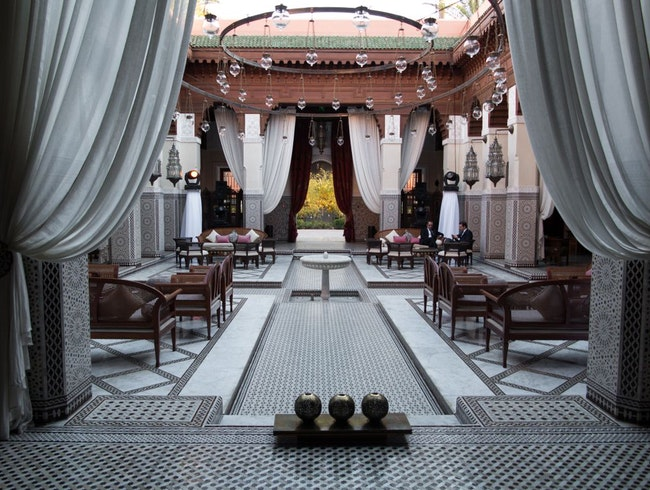 A Royal Drinking Spot in Marrakesh