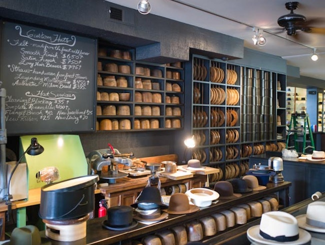 A Visit to Optimo Hats