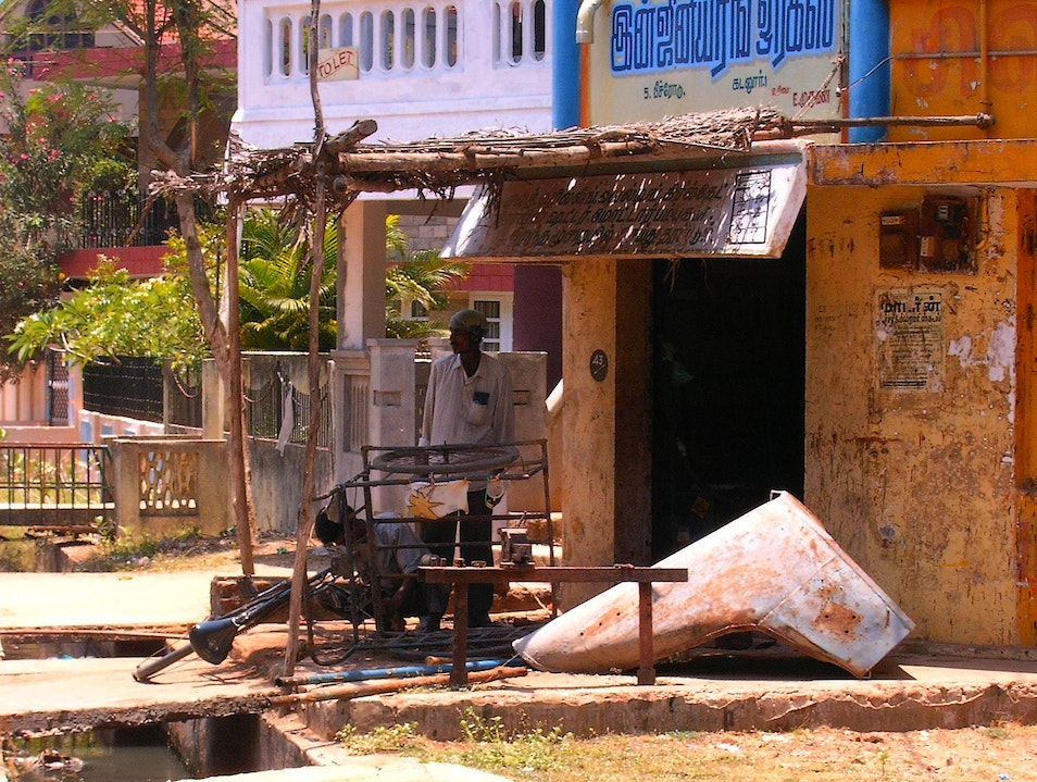 Getting Lost in the Village Streets Cuddalore  India