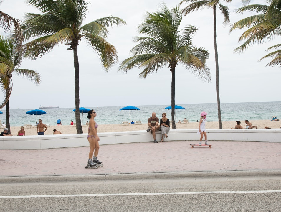 Cruise the Walkway Fort Lauderdale Florida United States