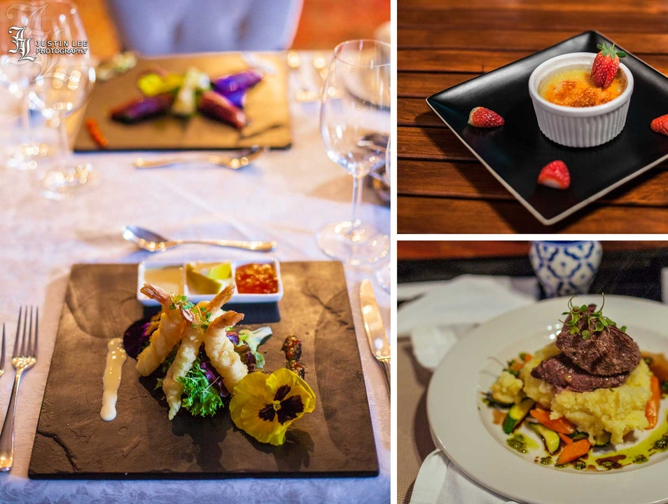Fine Dining in a Luxury Boutique Setting