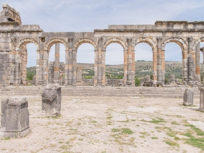 Archaeological Site of Volubilis Meknes El Menzeh  Morocco