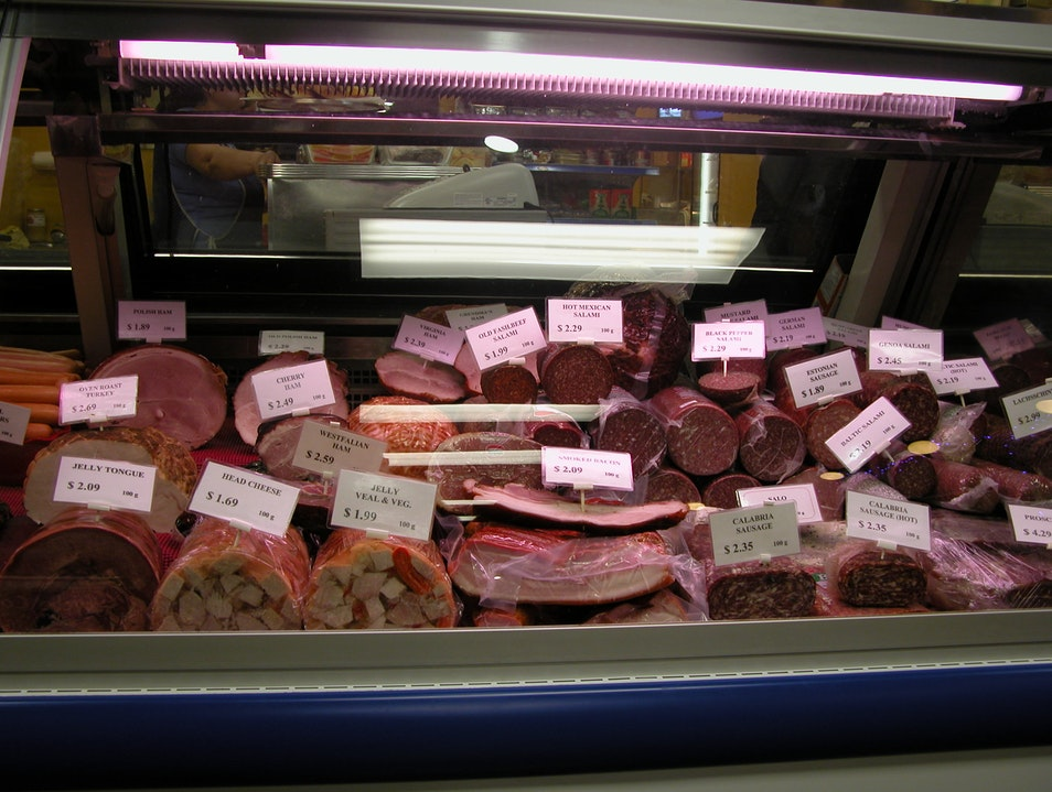 Markets: Anyone care for some head cheese?