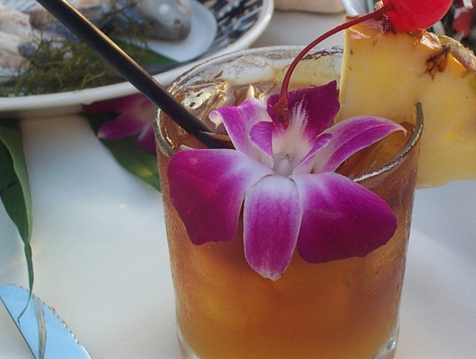 Mai Tai Madness Honolulu Hawaii United States
