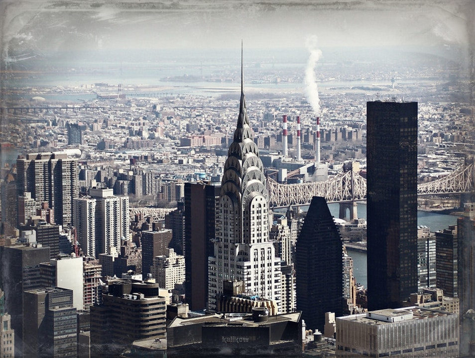 From Empire State Building to the Chrysler Building New York New York United States