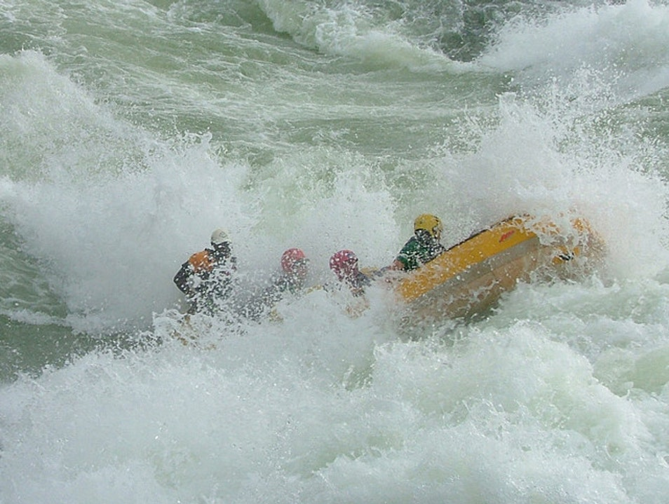 White Water Rafting - Source of the Nile