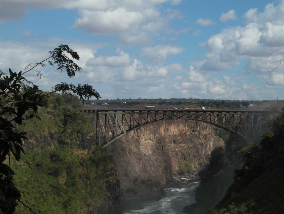 The Victoria Falls Bridge, World's Loveliest?  Victoria Falls  Zimbabwe