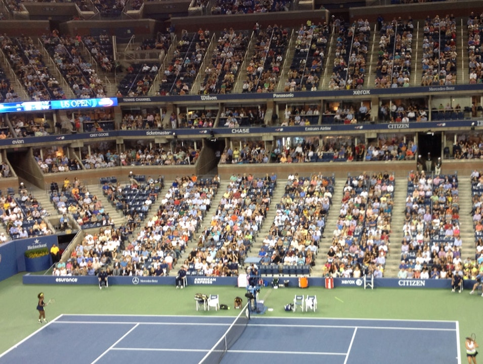 US OPEN - 1st Round 2nd Night