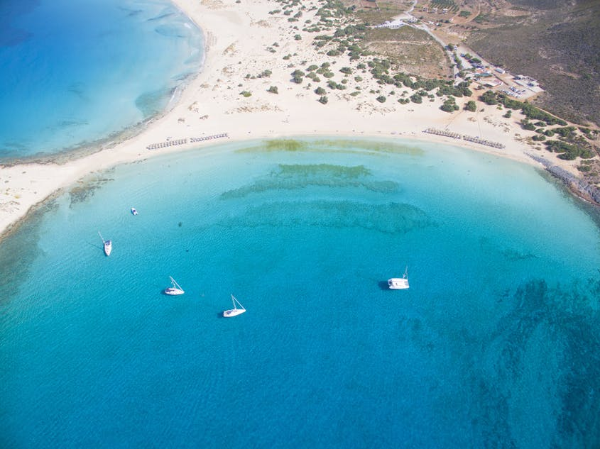 """Elafonissos is among the islands you might land on during an """"Odyssey""""-inspired sailing trip."""