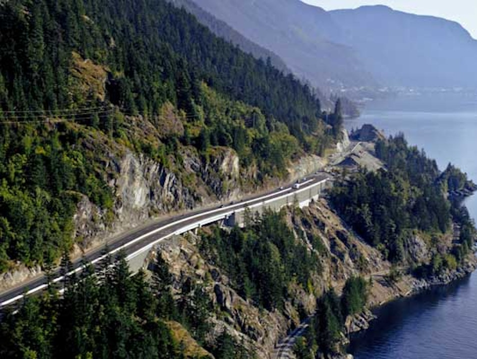 Take a Drive Along the Sea To Sky Highway