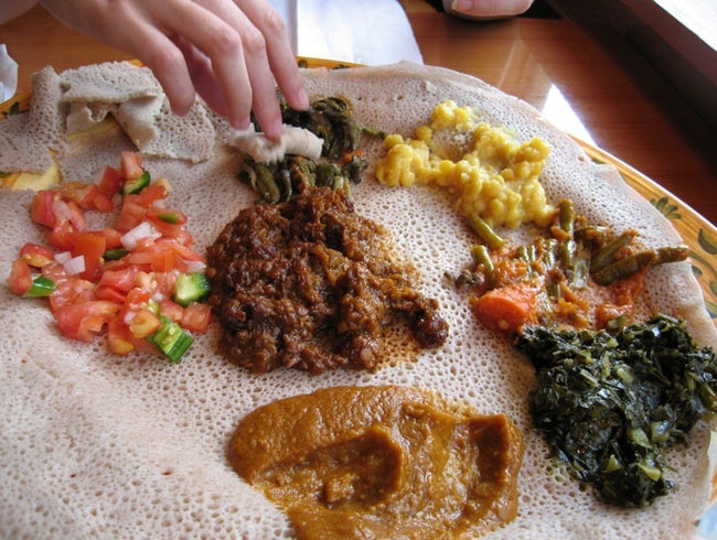 Try a Taste of Ethiopia