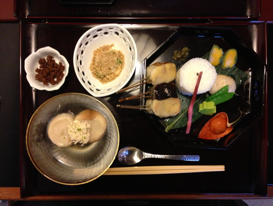 Vegetarian food in Kyoto Kyoto  Japan