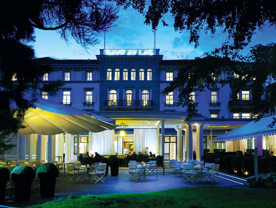 A Landmark Hotel Overlooking Lake Zurich Zurich  Switzerland