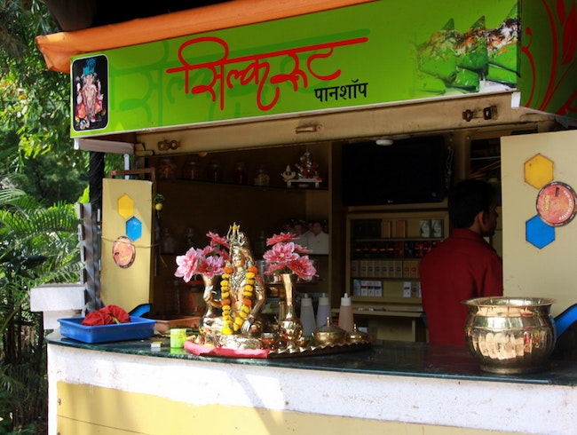 Complete Your Meal with a Paan at Silk Route