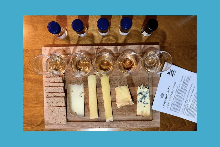 Count us in for any virtual event that involves whisky and cheese.
