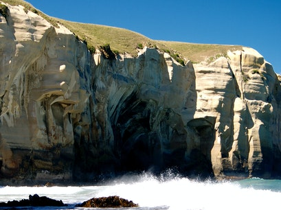 Tunnel Beach Walk Dunedin  New Zealand