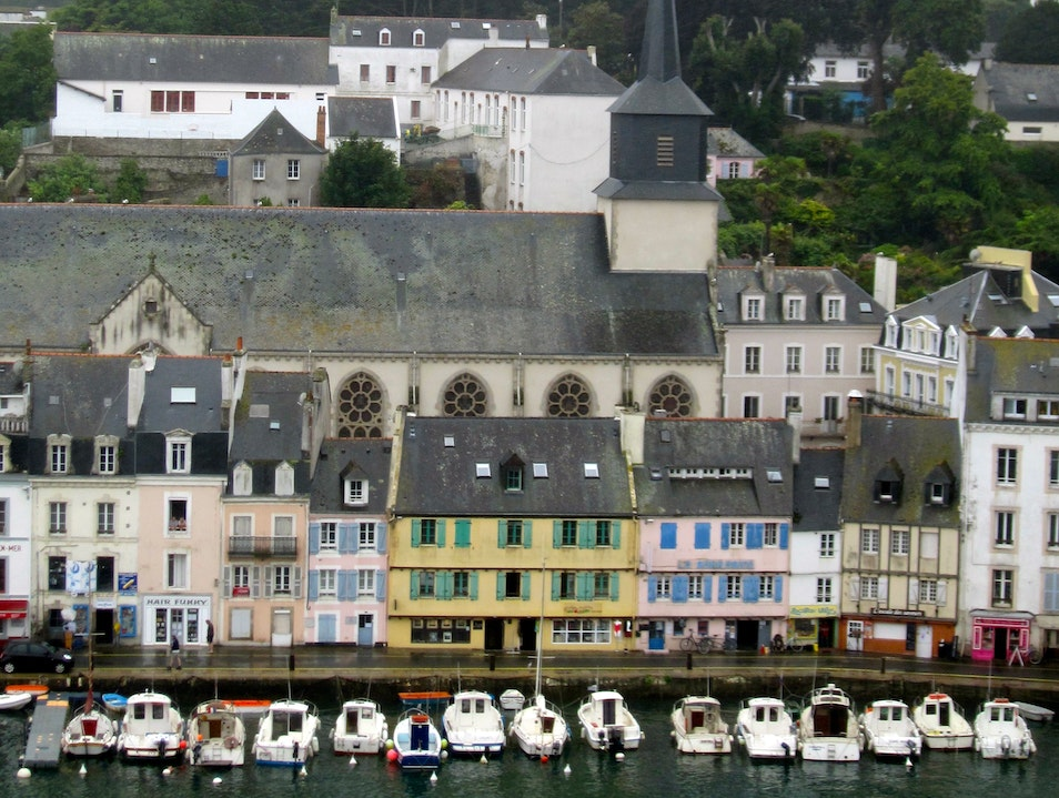 Beautiful Belle-Île Le Palais  France