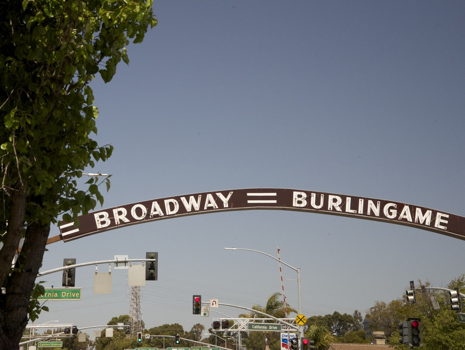 Broadway in Burlingame  Burlingame California United States
