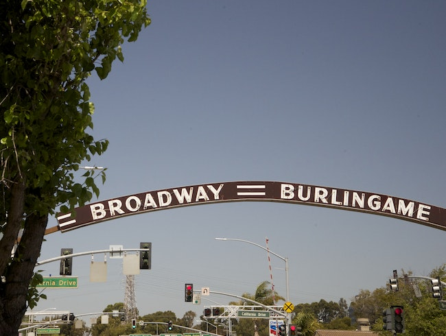 Broadway in Burlingame