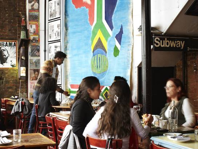 Madiba Restaurant, Fort Greene, Brooklyn