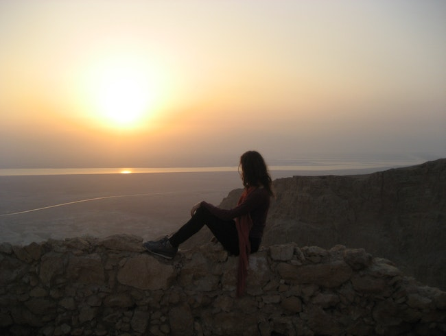 The Masada at Dawn