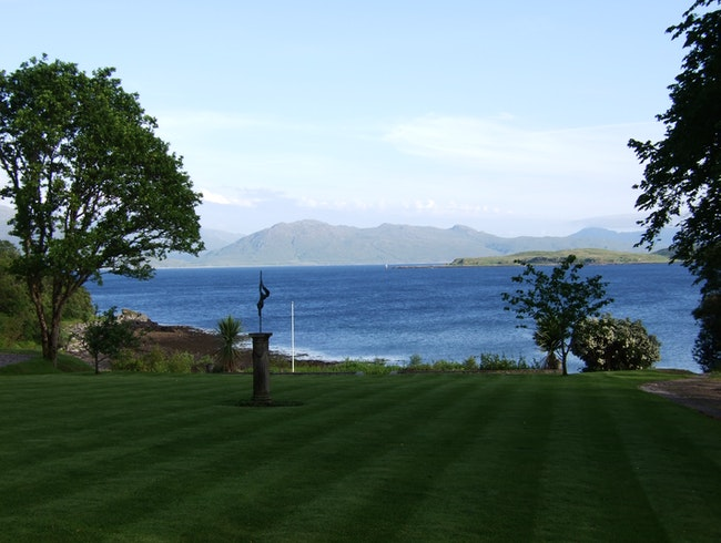 The View from Kinloch Lodge, Isle of Skye, Scotland