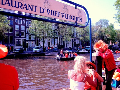 Restaurant D'Vijff Vlieghen dock Amsterdam  The Netherlands