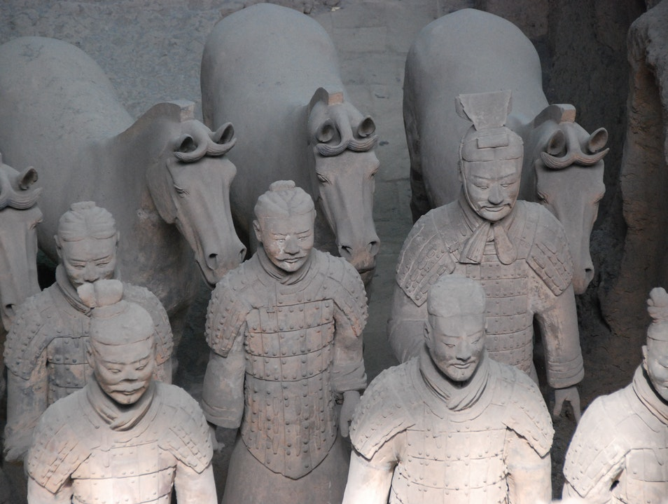 Warriors Await Xi'an  China