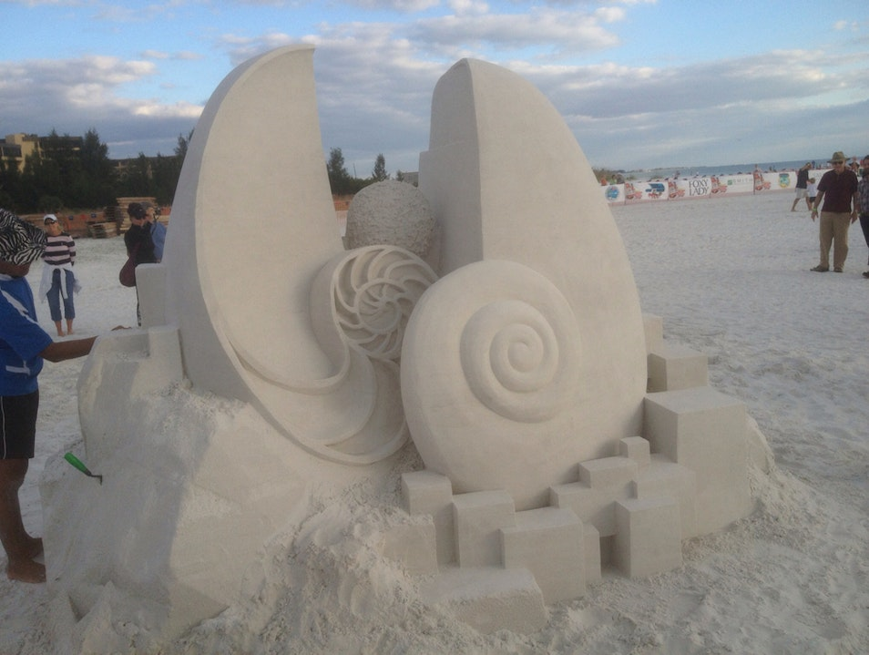 Siesta Key Sand Sculptures Sarasota Florida United States