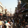 (Busy street in Varanasi) Devnathpur  India