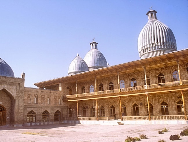 Mosque in Ferghana