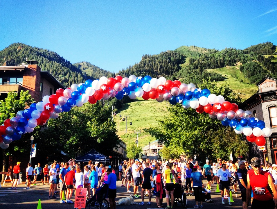 A July 4th Running Tradition in Aspen Aspen Colorado United States