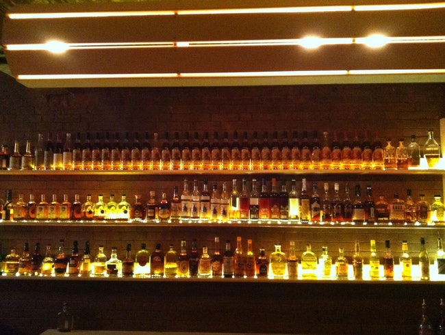 Scotch/Whiskey/Bourbon Selection at Krust