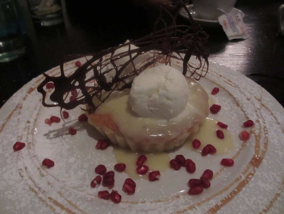 Banana Toffee Pie at Dukes Randburg  South Africa