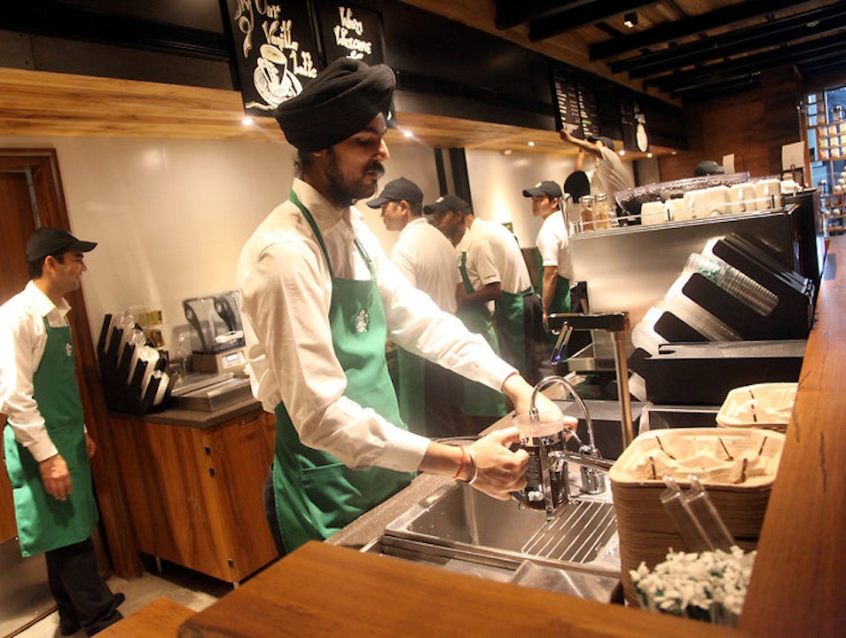 Yes, Starbucks New Delhi  India