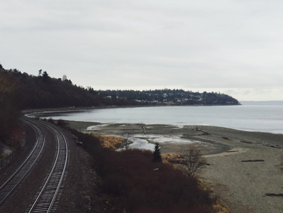 Carkeek Park on a Gray Day: Classic Pacific Northwest