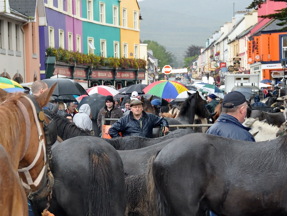 Fair Day in Kenmare Kenmare  Ireland