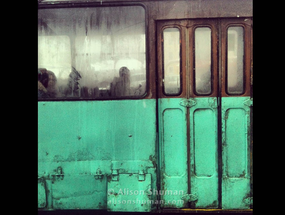 Buses, Trams, and Subway Cars