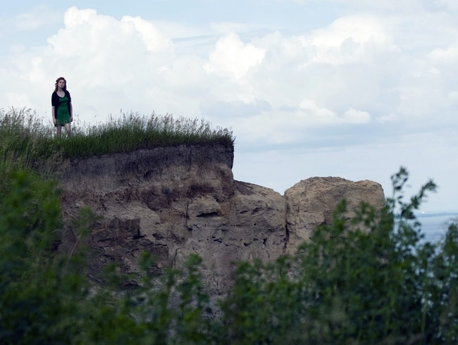 Summer picnic up on the Scarborough Bluffs