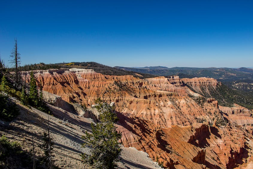 Cedar Breaks National Monument is eroding at a much faster pace than Bryce Canyon.