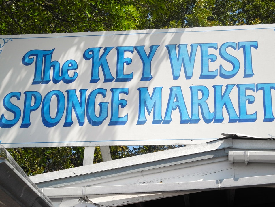 Discovering History in the The Key West Sponge Market Shop Key West Florida United States