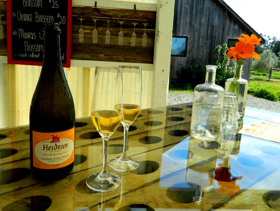 Mead Tasting in Point Reyes Station, CA